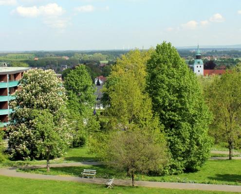 Blick auf Hotel Haus Deutsch Krone und Bad Essen