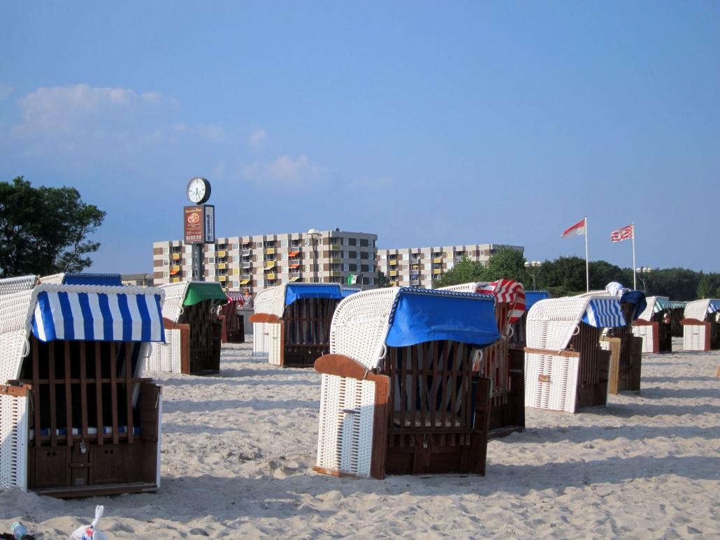 Der Strand von Grömitz