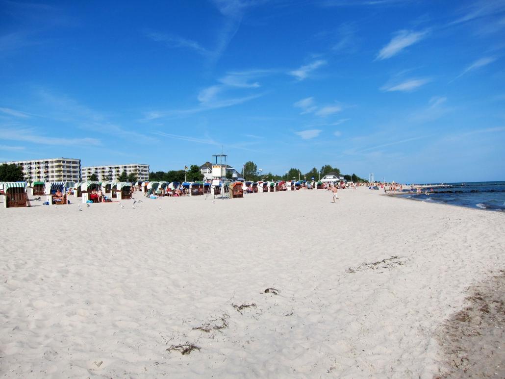 Wunderschöner Strand von Grömitz