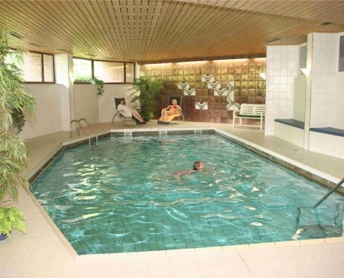 Schwimmbad Haus Deutsch Krone